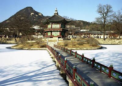 Palace Bridge Photograph - Kyeongbok Gung by Edward Shin Photography