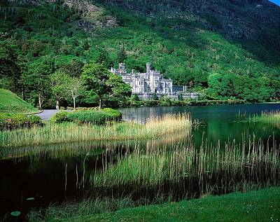 Monasticism Photograph - Kylemore Abbey, Co Galway, Ireland by The Irish Image Collection
