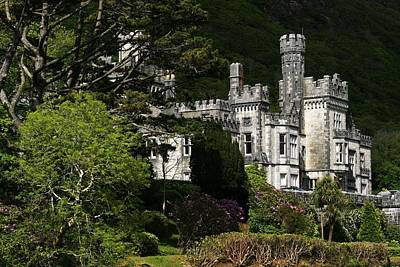 Kylemore Abbey, Connemara, County Art Print