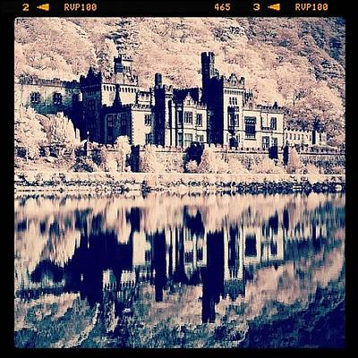 Kylemore Abbey, Ireland. Taken With Art Print
