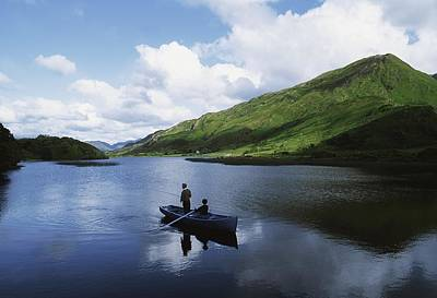 Kylemore Lake, Co Galway, Ireland Art Print by The Irish Image Collection