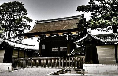 Mauer Photograph - Kyoto Gosho by Juergen Weiss