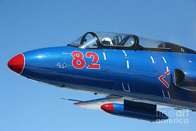 Trainer Aircraft Photograph - L-29 Delfin Standard Jet Trainer by Daniel Karlsson