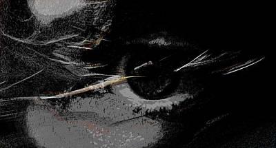 Eye Digital Art - L Oeil by Daniel Moussier