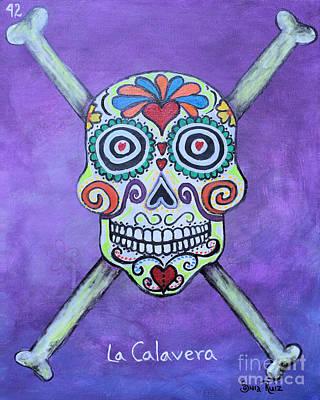 Painting - La Calavera by Sonia Flores Ruiz