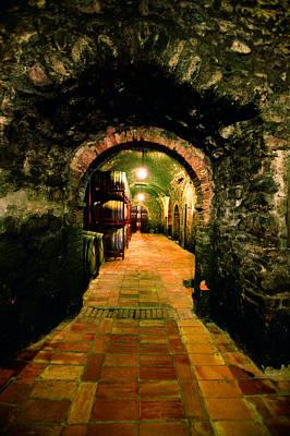 Wine Cellar Photograph - La Cantini Argiano by John Galbo