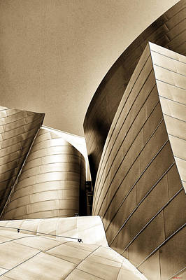 Photograph - La Concert Hall by SM Shahrokni