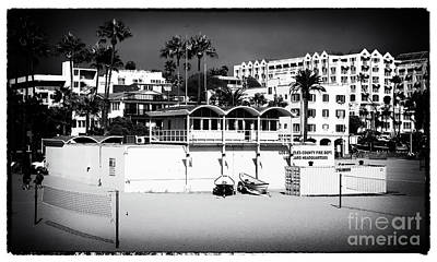 Photograph - La County Lifeguard Headquarters by John Rizzuto