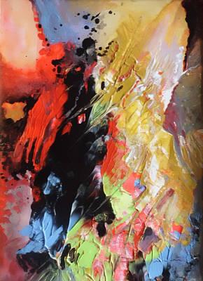 Painting - La Dame Noire by Miki De Goodaboom