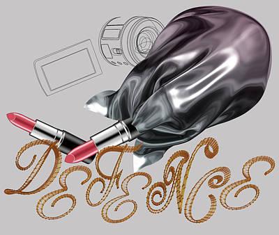 Manga Digital Art - La Defence 2 by Foltera Art
