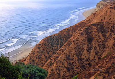 La Jolla Art Photograph - La Jolla Cliffs by Russ Harris