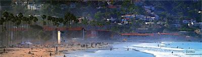 La Jolla Shores Beach - Morning Walk Original