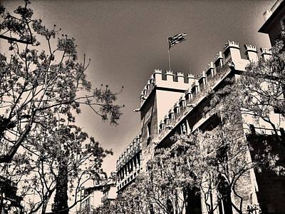Photograph - La Lonja De La Seda - Valencia by Juergen Weiss