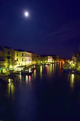 Photograph - La Luna Di Venezia by John Galbo