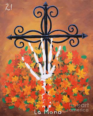 Painting - La Mano by Sonia Flores Ruiz