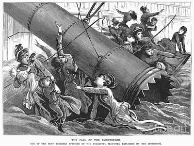 La Mascotte Disaster, 1886 Art Print by Granger