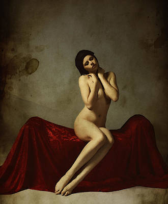Female Form Painting - La Musa Non Colpevole Aka The Innocent Muse by Cinema Photography