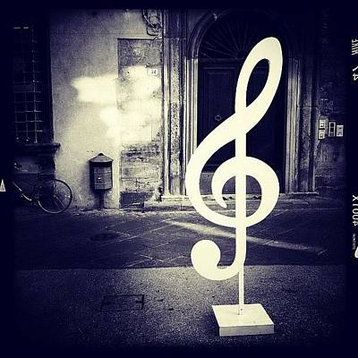 Music Photograph - La Musica by Sonia