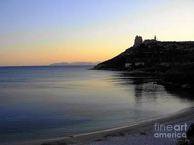 Photograph - la Pace scende sul Golfo degli Angeli by Mariana Costa Weldon