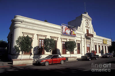 Photograph - La Paz Government Palace Baja Mexico by John  Mitchell