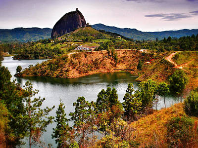 Guatape Photograph - La Piedra by Skip Hunt