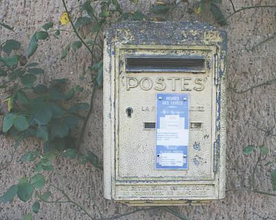 Mail Box Photograph - La Poste by Georgia Fowler