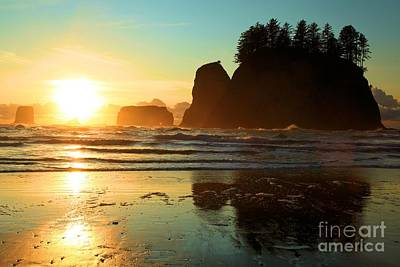 Photograph - La Push Sunset by Adam Jewell