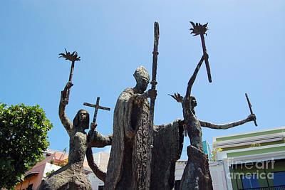 La Rogativa Photograph - La Rogativa Statue Old San Juan Puerto Rico by Shawn O'Brien