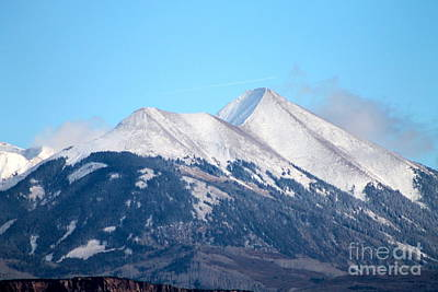 Photograph - La Sal Mountains 111 by Pamela Walrath