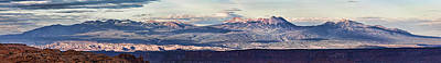 Photograph - La Sal Mountains From Canyonlands by Gregory Scott