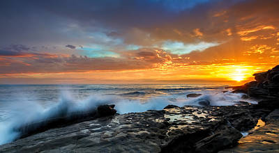 Maroubra Photograph - La Salida Del Sol by Mark Lucey