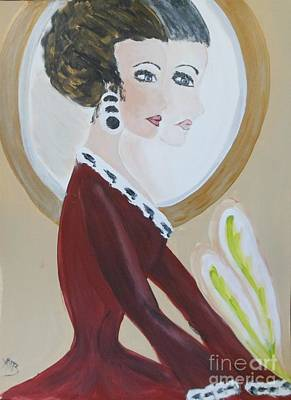 La Shai's 30th Birthday Portrait Original by Marie Bulger