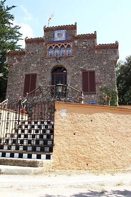 Que Photograph - La Torre Del Bolet A Les Cases De Les Arenes En Terme De Castellar Al Valles Sobira by Antonio Mora Verges