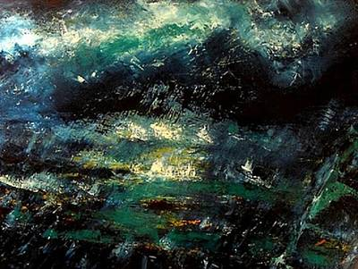 La Vague Painting - La Vague by Marchini Pierre paul