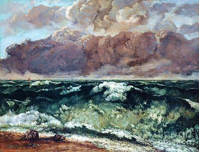 Painting - La Vague by Pg Reproductions
