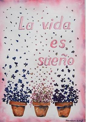 Painting - La Vida Es Sueno by Regina Ammerman
