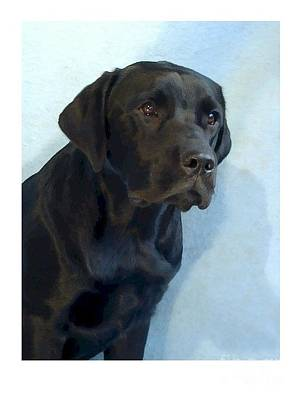 Retriever Digital Art - Labrador Retriever 1511 by Larry Matthews