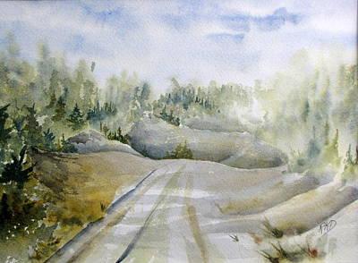Painting - Labrador Wilderness by Ramona Kraemer-Dobson