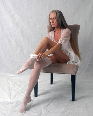 Photograph - Lace And Legs by Nancy Taylor