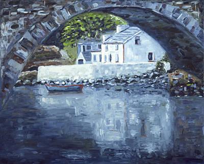 Painting - Lackagh Bridge by John Farley