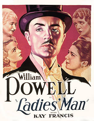 Postv Photograph - Ladies Man, William Powell, From Upper by Everett