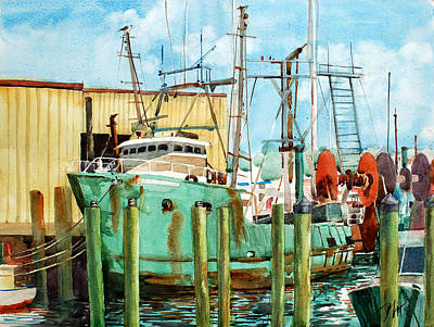 Painting - Lady Grace Trawler by Peter Sit