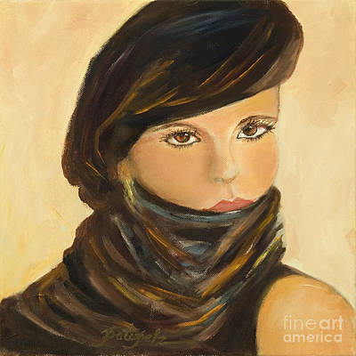 Painting - Lady In Brown by Pati Pelz
