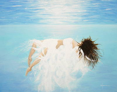 Painting - Lady Of The Water by Kume Bryant