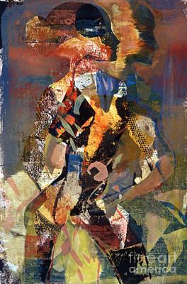 Lady Of Tucumcari Art Print by Charles B Mitchell