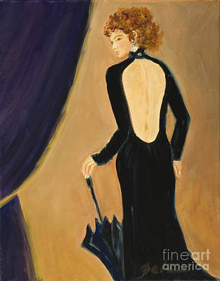 Painting - Lady On Stage by Pati Pelz