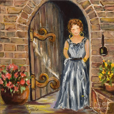 Painting - Lady Waiting by Pati Pelz