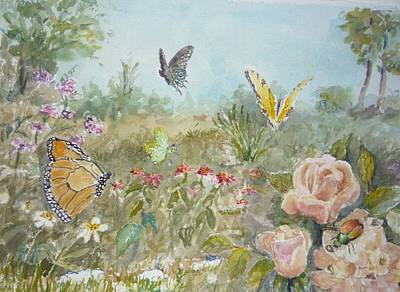 Painting - Ladybug by Dorothy Herron