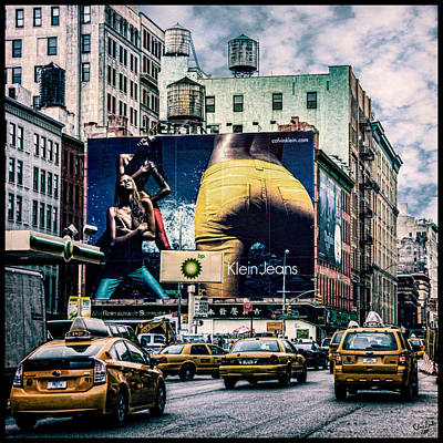 Digital Art - Lafayette And Houston Nyc by Chris Lord