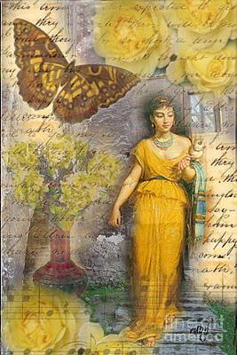 Lafileuse Of 1874 Art Print